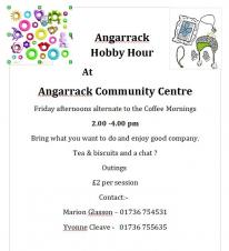 Hobby & Craft Afternoon | Angarrack Community Centre